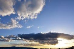 Antes de la tormenta Foto de archivo libre de regalías