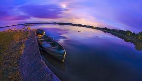 Antes de oscuridad Foto de archivo libre de regalías
