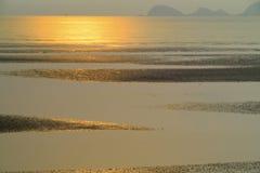 Antes de puesta del sol Fotos de archivo libres de regalías