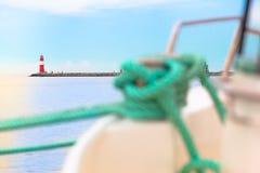 Antes de puesto hacia fuera al viaje del mar Fotografía de archivo libre de regalías