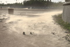 Antes de tempestad de arena Imagen de archivo
