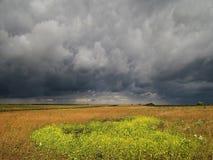 Antes de tempestad de truenos Foto de archivo libre de regalías