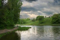 Antes de uma chuva Fotografia de Stock Royalty Free