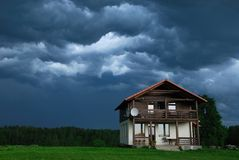 Antes de uma tempestade fotos de stock royalty free
