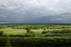 Antes de una tempestad de truenos. Fotos de archivo libres de regalías