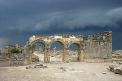 Antes de una tempestad de truenos Foto de archivo
