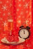 Antes do jantar de Natal Foto de Stock