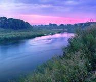 Antes do nascer do sol Foto de Stock