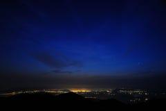 Antes do nascer do sol Fotos de Stock