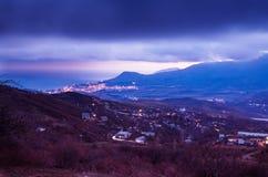 Antes do nascer do sol Imagem de Stock