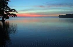 Antes do nascer do sol fotografia de stock royalty free