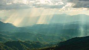 Antes do tempo do por do sol Imagens de Stock