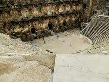 ANTHALYA, ТУРЦИЯ, Aspendos -го coloseum в ИЮЛЕ 7,2017 в Турции Стоковые Фотографии RF