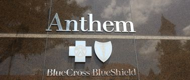 Anthem Health Blue Cross Blue Shield Royalty Free Stock Photography