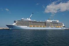 Anthem of the Seas.Royal Caribbean International Stock Image
