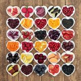 Anthocyanin Health Food Concept Royalty Free Stock Image