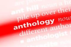 anthologie stock afbeeldingen
