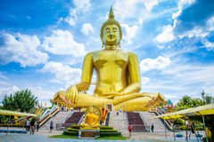 Anthong di Wat Mung fotografia stock