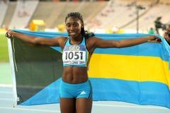 Anthonique Strachan von Bahamas Lizenzfreies Stockfoto