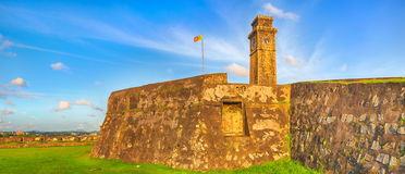 Anthonisz Memorial Clock Tower in Galle Royalty Free Stock Photos