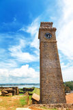 Anthonisz Memorial Gall Fort Clock Tower in Galle, Sri Lanka Royalty Free Stock Image