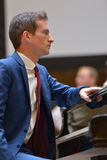 Anthony ισχυρός στο πιάνο Στοκ Φωτογραφία