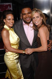 Anthony Anderson,Cheryl Hines,Leila Arcieri Royalty Free Stock Photos