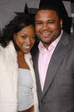 Anthony Anderson,Kellita Smith Stock Image