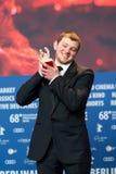Anthony Bajon, vencedor do urso de prata para o melhor ator em Berlinale 2018 Imagens de Stock Royalty Free