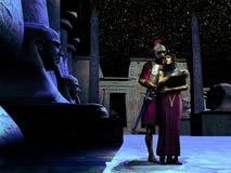 Anthony en Cleopatra Stock Afbeeldingen