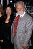 Anthony Hopkins και Στέλλα Arroyave Στοκ Εικόνες