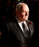 Anthony Hopkins. At the european premiere of 'Beowulf' at the Vue cinema on November 11, 2007, London, England Royalty Free Stock Images