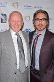Anthony Hopkins,Robert Downey Jr Royalty Free Stock Photos