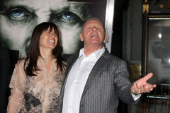 Anthony Hopkins, Stella Arroyave Immagini Stock