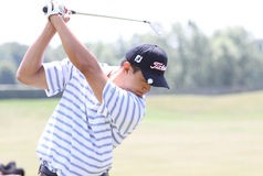 Anthony Kang an den Golf Franzosen öffnen 2010 Stockfotografie