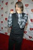 Anthony Kiedis sul tappeto rosso. Fotografia Stock Libera da Diritti
