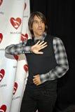 Anthony Kiedis sul tappeto rosso. immagine stock