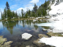 Anthony Lakes Glacial Tarn Fotografia de Stock