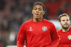 Anthony Martial Manchester Unied Royalty Free Stock Photos