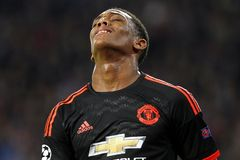 Anthony Martial Manchester United Stock Image