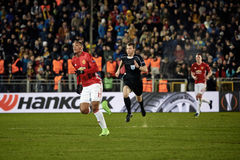 Anthony Martial, moments de jeu Image libre de droits