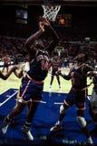 Anthony Mason y Patrick Ewing, los New York Knicks Imagen de archivo