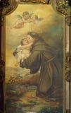 anthony padua saint arkivbilder
