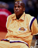 Anthony Peeler, Los Angeles Lakers Photographie stock libre de droits