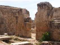 Anthony Pius& x27 όροι του s σε Καρθαγένη στο έδαφος της Τυνησίας Στοκ εικόνες με δικαίωμα ελεύθερης χρήσης