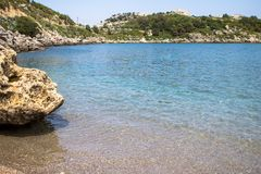 Anthony Quinn Bay, Ρόδος, Ελλάδα Στοκ Εικόνες