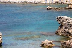 Anthony Quinn Bay, Ρόδος, Ελλάδα Στοκ φωτογραφία με δικαίωμα ελεύθερης χρήσης