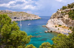 Anthony Quinn Bay Royalty Free Stock Image