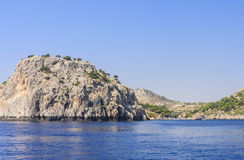 Anthony Quinn Bay. Rhodes Island. Greece Stock Images