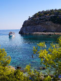 Anthony Quinn's Bay in Greece Royalty Free Stock Photos